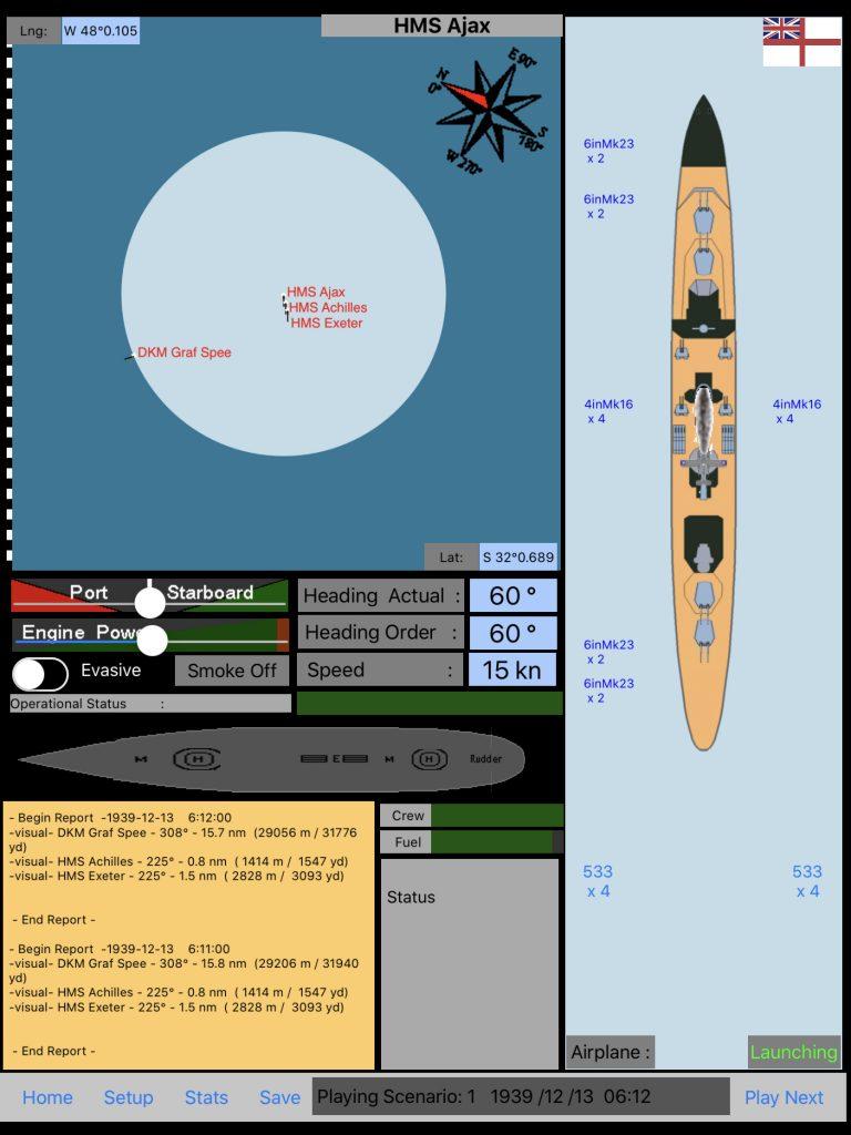DKM Graf Spee 1.5.2 Observation plane 1