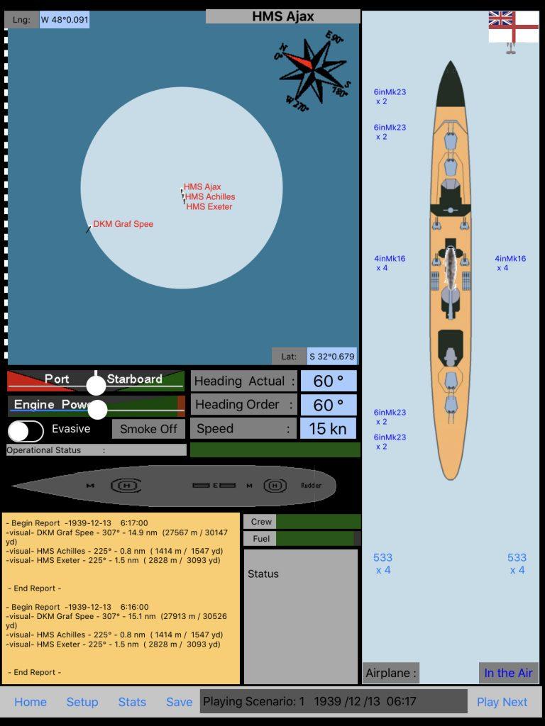 DKM Graf Spee 1.5.2 Observation plane 3